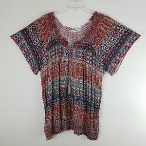 Maurices Peasant Hobo Top
